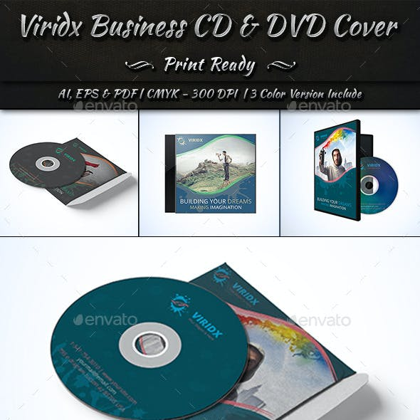 Viridx Business CD & DVD Cover