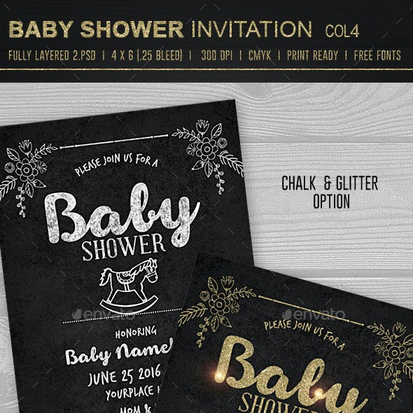Baby Shower Invitation 4