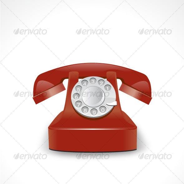 Vector Telephone Icon