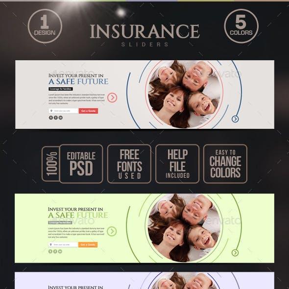 Insurance Sliders