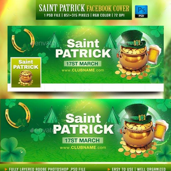 Saint Patrick Facebook Cover