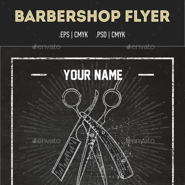 Barbershop Flyer Template