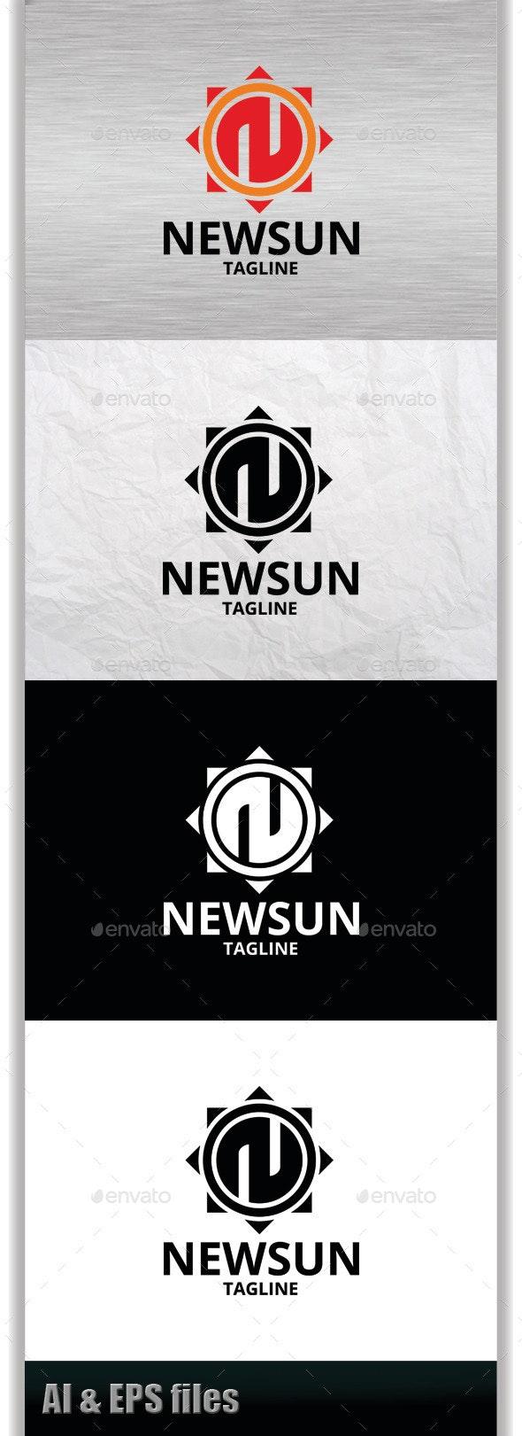 Newsun Logo - Symbols Logo Templates
