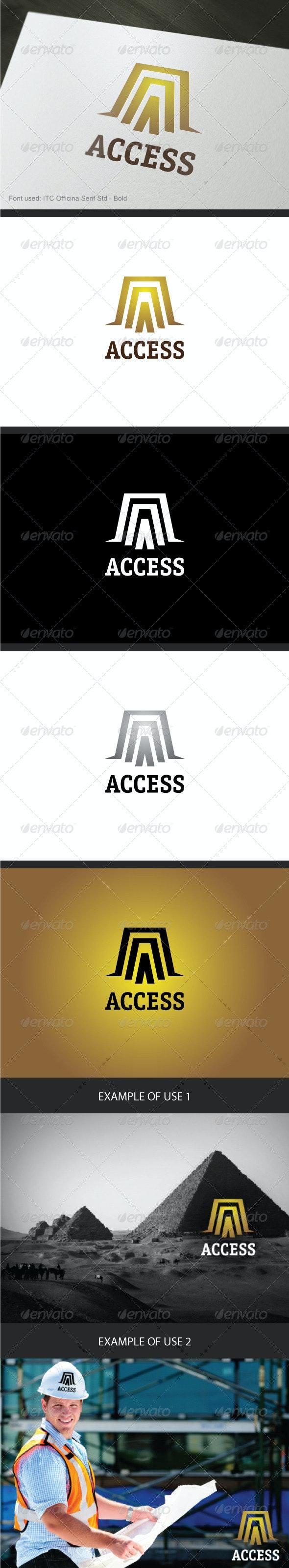 Access Logo - Abstract Logo Templates