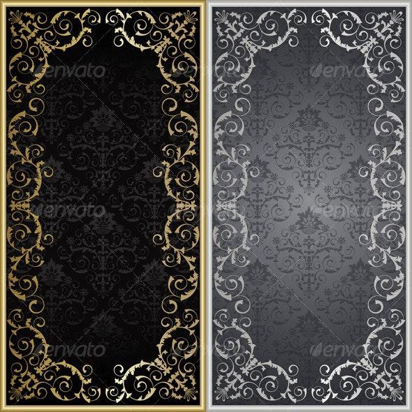 Set from framework - Backgrounds Decorative