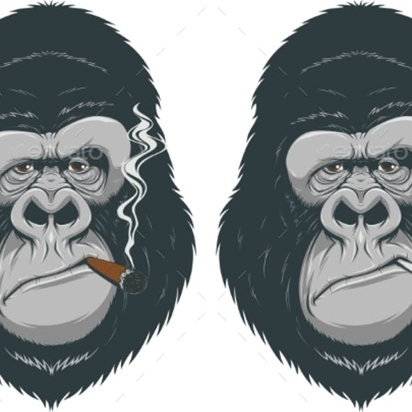Monkey with a Cigarette