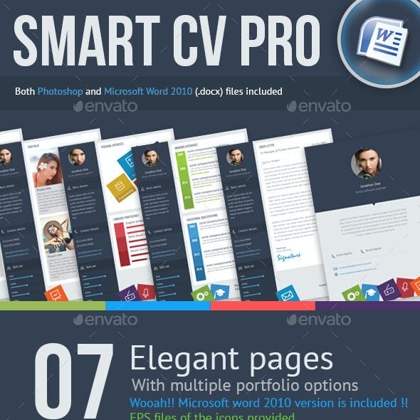 7 Page Smart CV