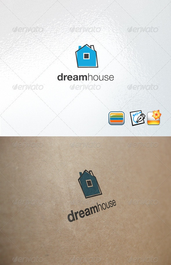 Dream House Logo - Buildings Logo Templates