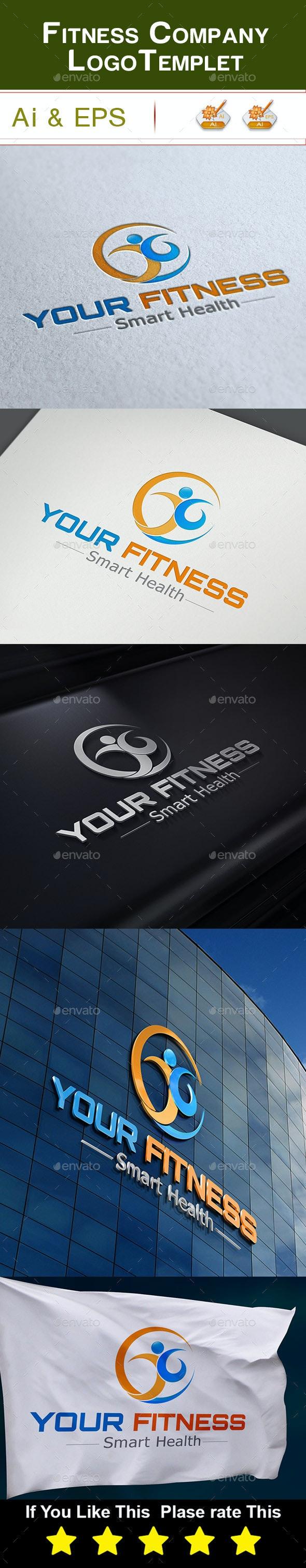 Fitness Company Logo - Company Logo Templates