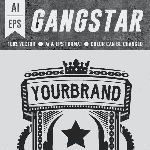 Gangstar T-shirt Design