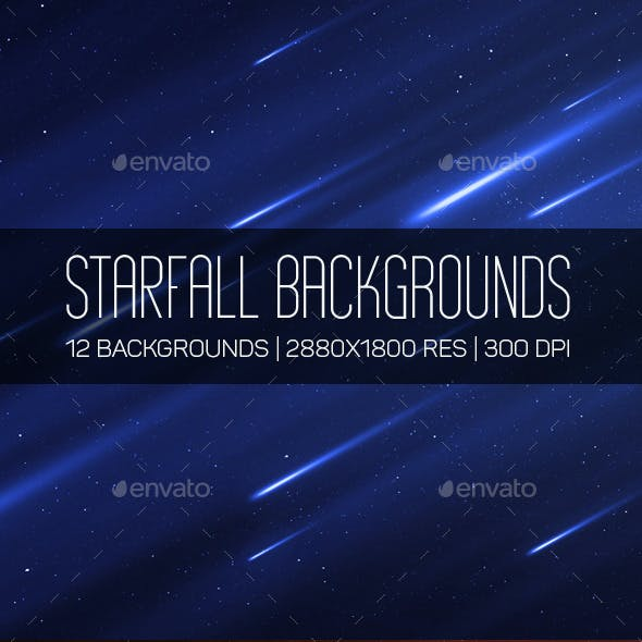 Starfall Backgrounds