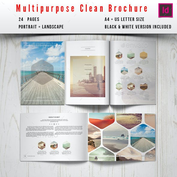 Multipurpose Clean Brochure / Catalog