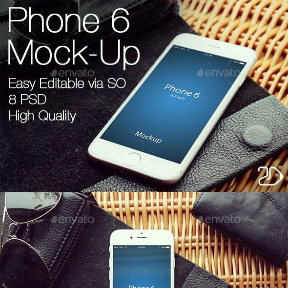 Phone 6 Mockup v2