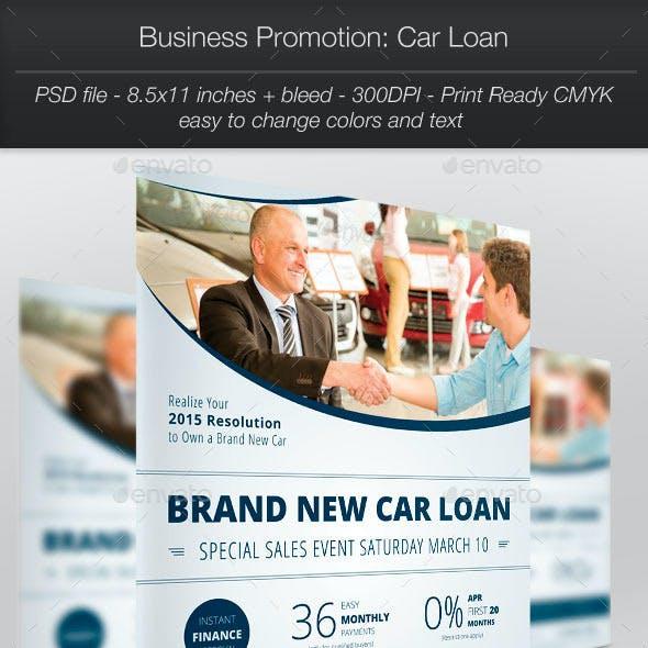 Business Promotion: Car Loan