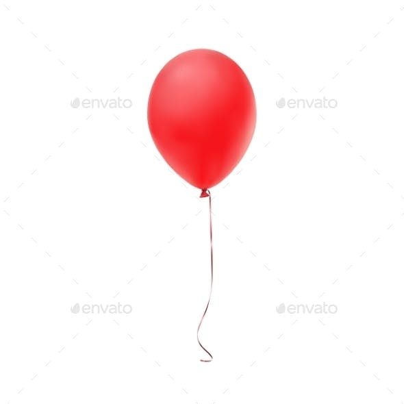 Red Balloon Icon