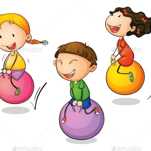 Bounce Cartoon Graphics, Designs & Templates from GraphicRiver