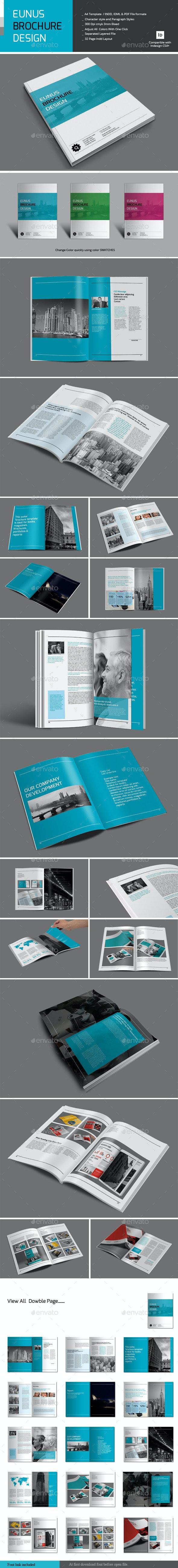 Eunus Brochure Design - Corporate Brochures