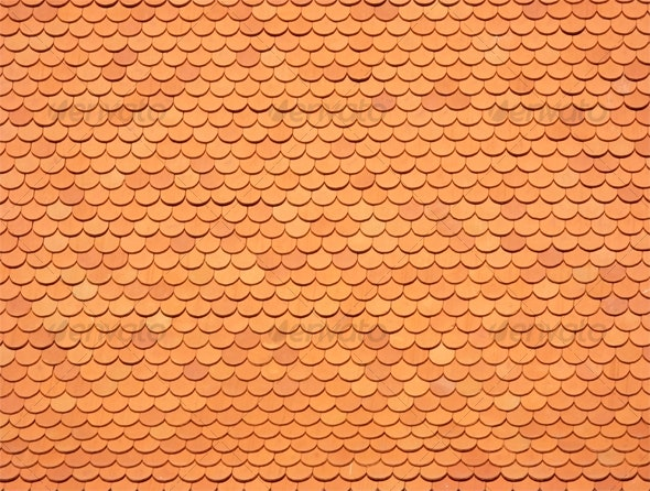Red tiles roof - Industrial / Grunge Textures