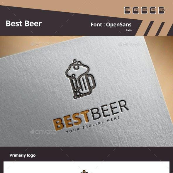 Best Beer Logo Template