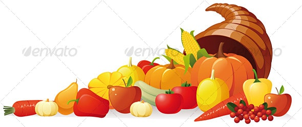 Cornucopia - Food Objects