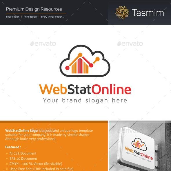 WebStatOnline Logo Template