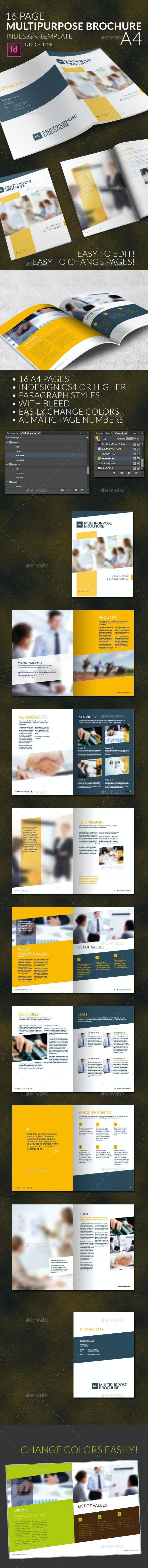 Multipurpose Business Brochure A4 - Informational Brochures