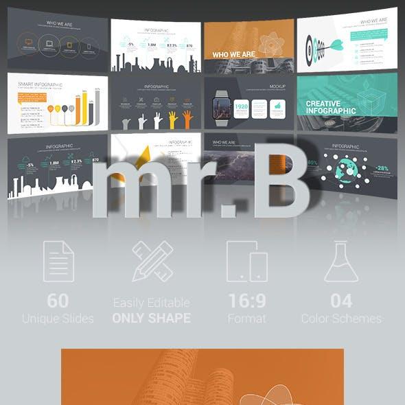 mr.B - PowerPoint template