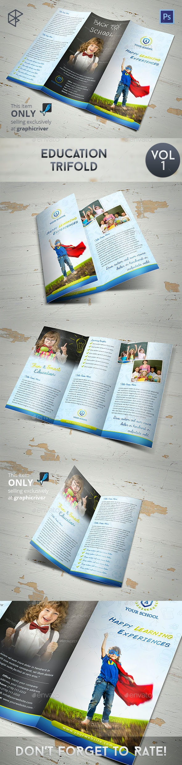 Education Trifold - Informational Brochures