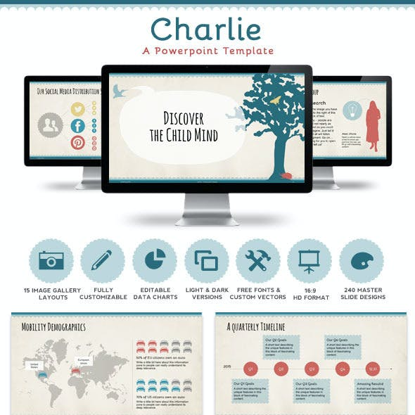 Charlie Powerpoint Presentation Template