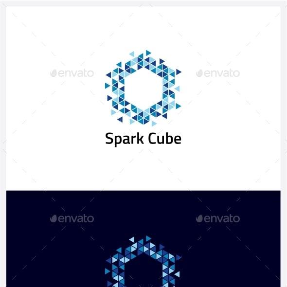 Spark Cube Logo