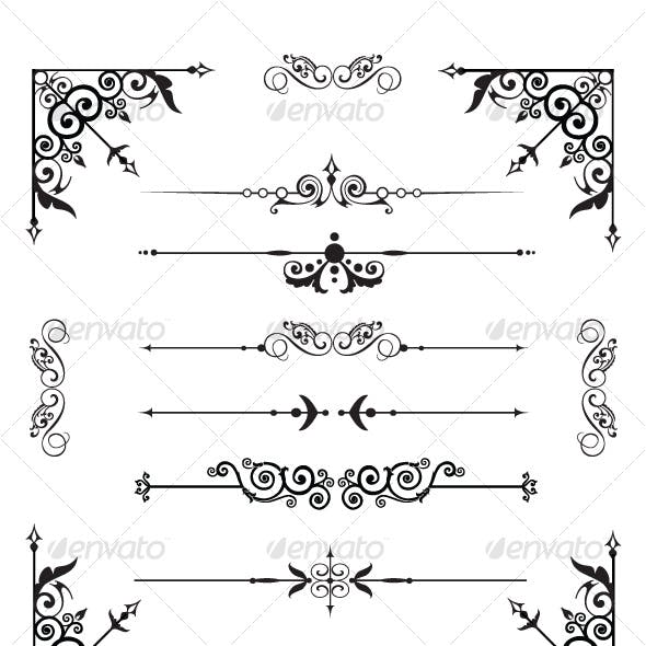 Decorative Corners and Dividers