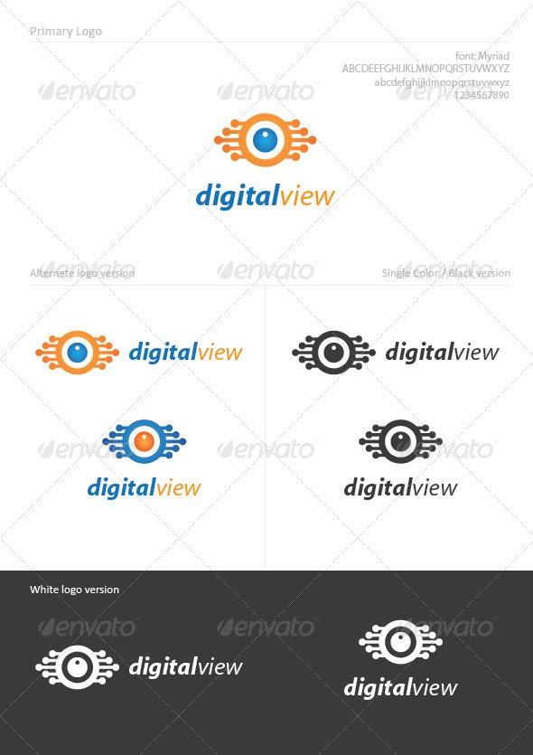 Digital View - Symbols Logo Templates