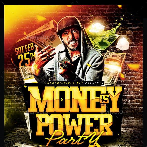 Money Is Power | Flyer Template PSD