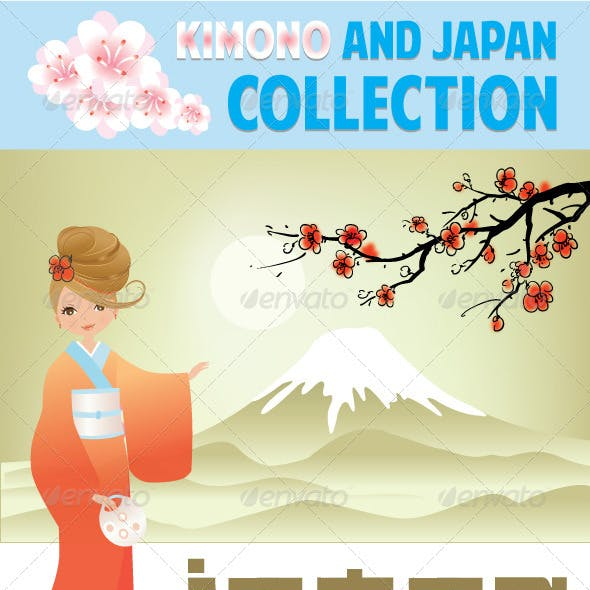 Kimono And Japan Colection