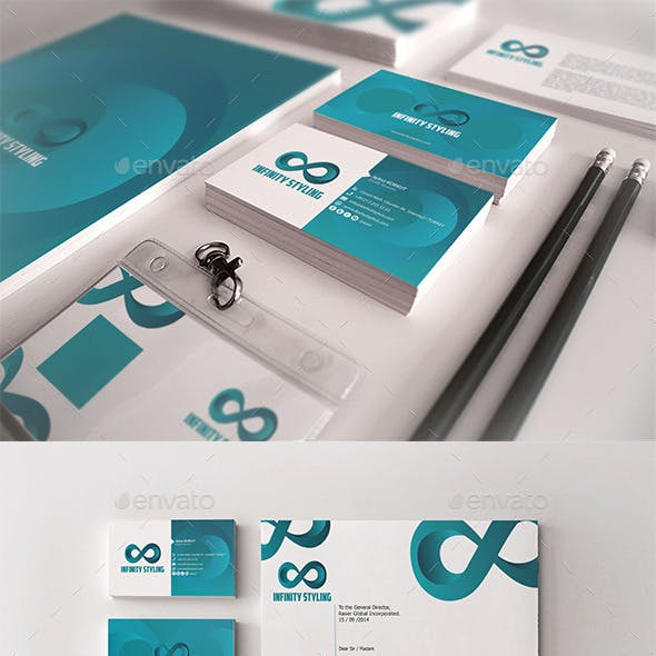 Infinity Styling Corporate Identity Package