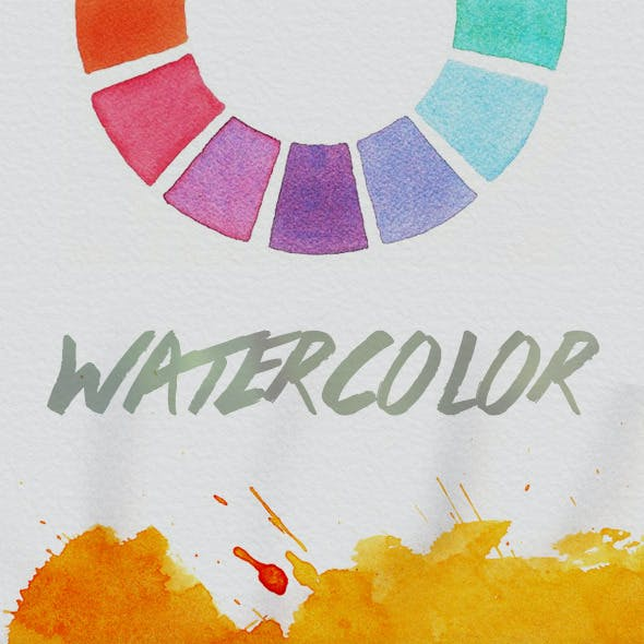 Watercolor Paper Patterns