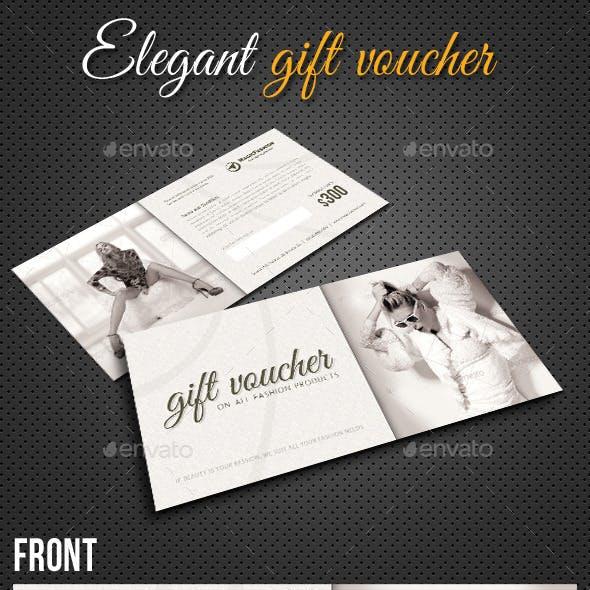 Elegant Gift Voucher V01