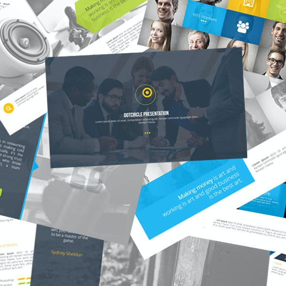 Dotcircle PowerPoint Template
