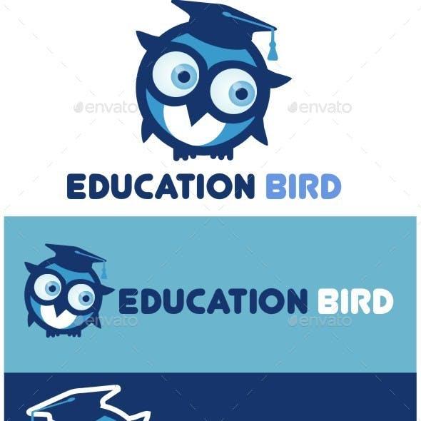 Bird Education Logo Design