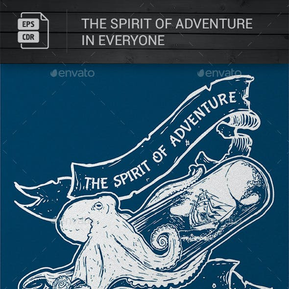Adventure Spirit T Shirt