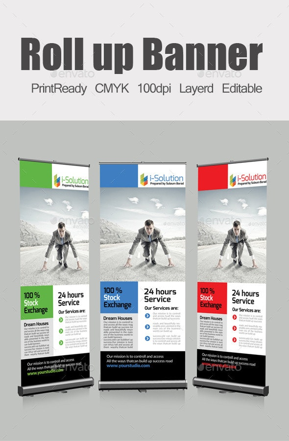 Roll Up Business Banners