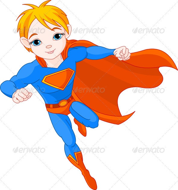 Super  Boy - People Characters