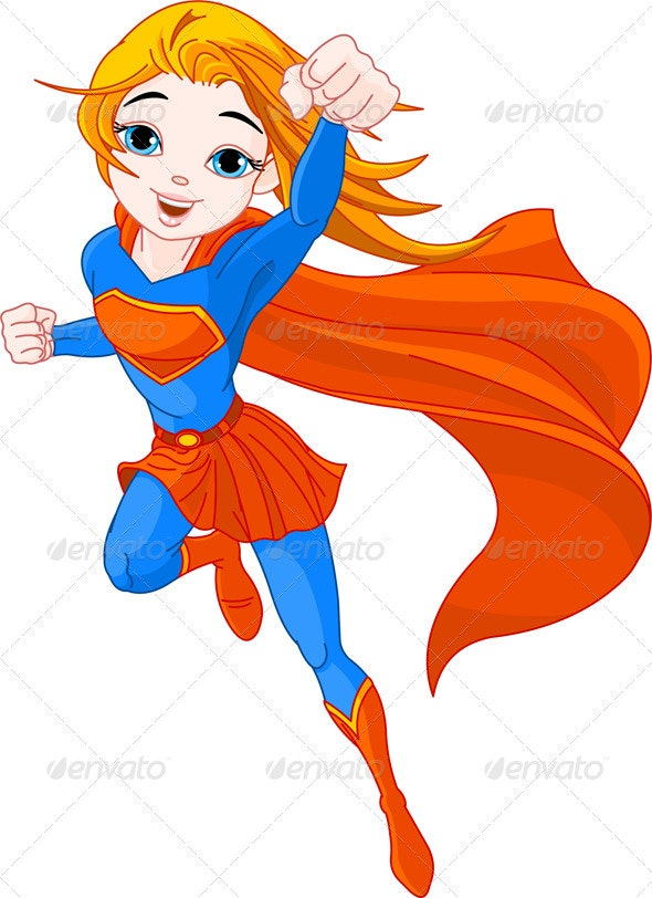 Super Girl - People Characters