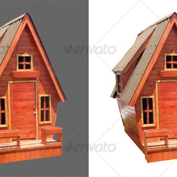 Children Wooden House