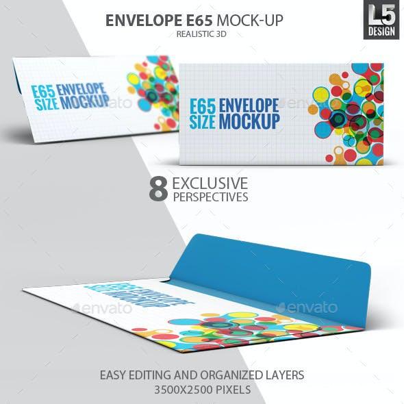 Envelope E65 Mock-Up