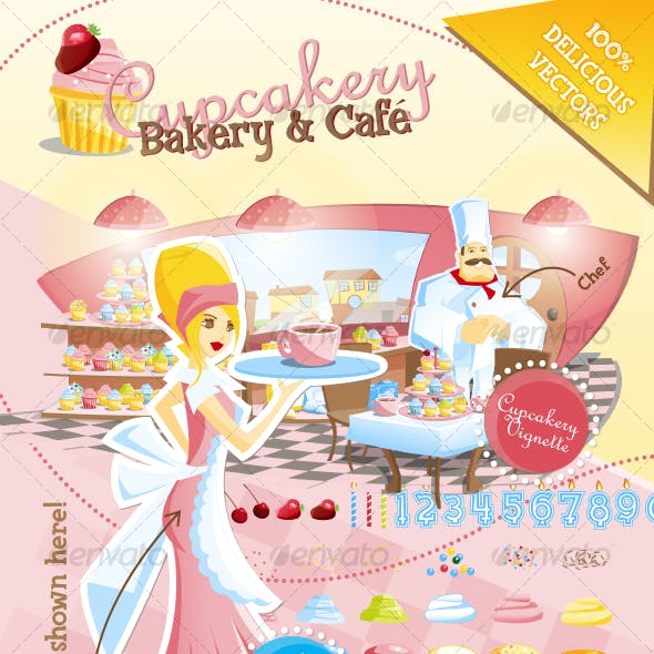 Cupcakery Bakery and Cafe