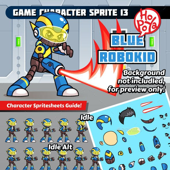 Game Character Sprite 13