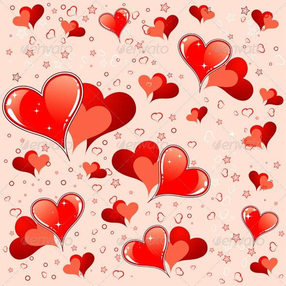 Valentines Day pattern - Valentines Seasons/Holidays
