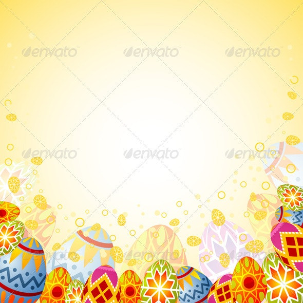 Easter frame - Miscellaneous Seasons/Holidays