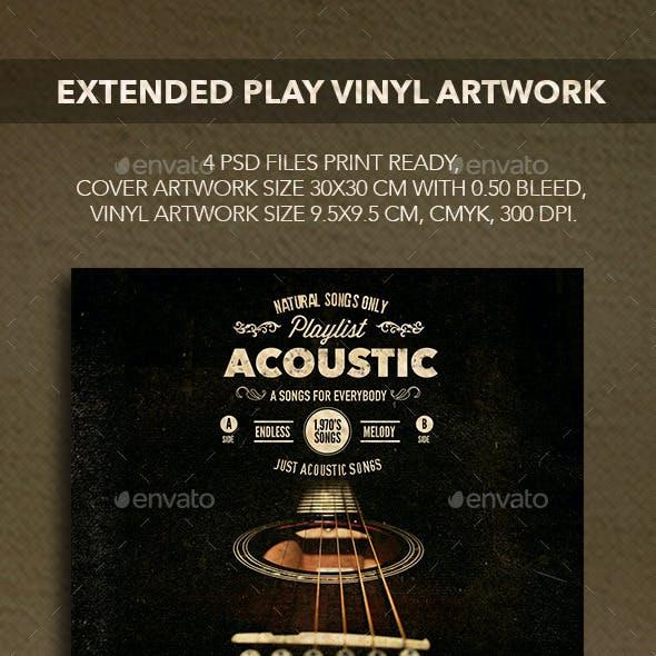 Vinyl Records Artwork